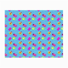 Summer Pattern Small Glasses Cloth (2 Side) by ValentinaDesign