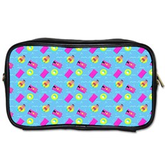 Summer Pattern Toiletries Bags 2 Side by ValentinaDesign