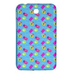 Summer Pattern Samsung Galaxy Tab 3 (7 ) P3200 Hardshell Case  by ValentinaDesign