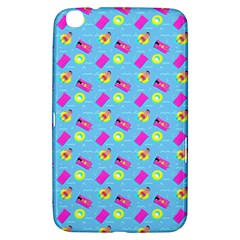 Summer Pattern Samsung Galaxy Tab 3 (8 ) T3100 Hardshell Case  by ValentinaDesign