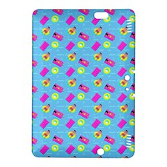 Summer Pattern Kindle Fire Hdx 8 9  Hardshell Case by ValentinaDesign