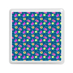 Summer Pattern Memory Card Reader (square)  by ValentinaDesign