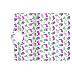 Dinosaurs Pattern Kindle Fire Hdx 8 9  Flip 360 Case by ValentinaDesign