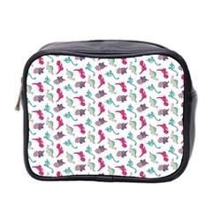 Dinosaurs Pattern Mini Toiletries Bag 2 Side by ValentinaDesign