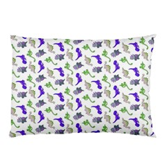 Dinosaurs Pattern Pillow Case (two Sides) by ValentinaDesign