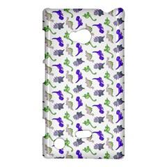 Dinosaurs Pattern Nokia Lumia 720 by ValentinaDesign