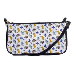 Dinosaurs Pattern Shoulder Clutch Bags by ValentinaDesign