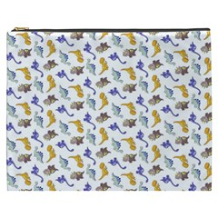 Dinosaurs Pattern Cosmetic Bag (xxxl)  by ValentinaDesign