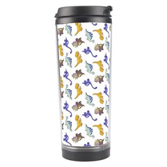 Dinosaurs Pattern Travel Tumbler by ValentinaDesign