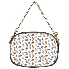 Dinosaurs Pattern Chain Purses (one Side)  by ValentinaDesign