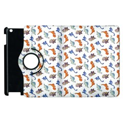 Dinosaurs Pattern Apple Ipad 3/4 Flip 360 Case by ValentinaDesign