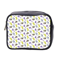 Dinosaurs Pattern Mini Toiletries Bag 2 Side by ValentinaDesign