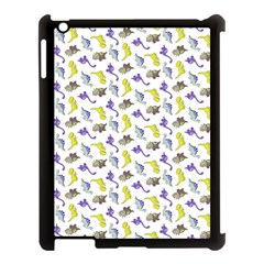 Dinosaurs Pattern Apple Ipad 3/4 Case (black) by ValentinaDesign