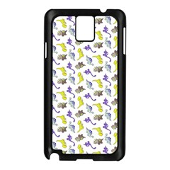 Dinosaurs Pattern Samsung Galaxy Note 3 N9005 Case (black) by ValentinaDesign