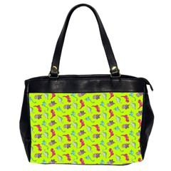 Dinosaurs Pattern Office Handbags (2 Sides)  by ValentinaDesign