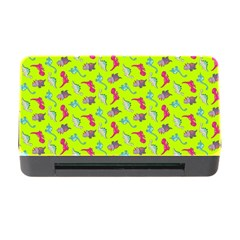 Dinosaurs Pattern Memory Card Reader With Cf by ValentinaDesign