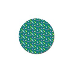Dinosaurs Pattern Golf Ball Marker (10 Pack) by ValentinaDesign
