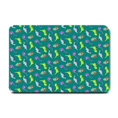 Dinosaurs Pattern Small Doormat  by ValentinaDesign