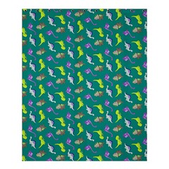 Dinosaurs Pattern Shower Curtain 60  X 72  (medium)  by ValentinaDesign
