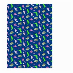 Dinosaurs Pattern Large Garden Flag (two Sides) by ValentinaDesign