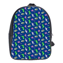 Dinosaurs Pattern School Bags (xl)  by ValentinaDesign