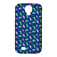 Dinosaurs Pattern Samsung Galaxy S4 Classic Hardshell Case (pc+silicone) by ValentinaDesign