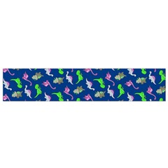 Dinosaurs Pattern Flano Scarf (small) by ValentinaDesign
