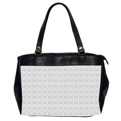 Pattern Office Handbags (2 Sides)  by ValentinaDesign
