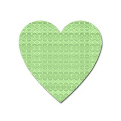Pattern Heart Magnet by ValentinaDesign
