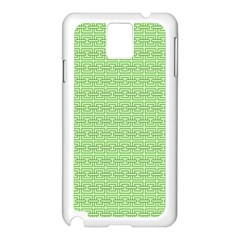 Pattern Samsung Galaxy Note 3 N9005 Case (white) by ValentinaDesign