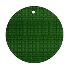 Pattern Ornament (round) by ValentinaDesign