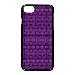 Pattern Apple Iphone 7 Seamless Case (black) by ValentinaDesign