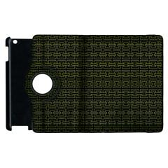 Pattern Apple Ipad 2 Flip 360 Case by ValentinaDesign