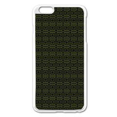 Pattern Apple Iphone 6 Plus/6s Plus Enamel White Case by ValentinaDesign