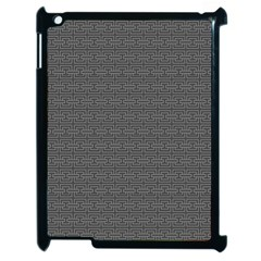 Pattern Apple Ipad 2 Case (black) by ValentinaDesign