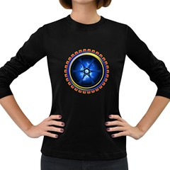 Power Core Women s Long Sleeve Dark T Shirts