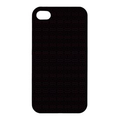 Pattern Apple Iphone 4/4s Premium Hardshell Case by ValentinaDesign