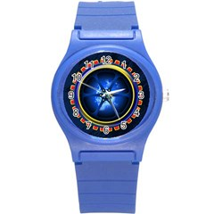 Power Core Round Plastic Sport Watch (s) by linceazul