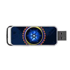 Power Core Portable Usb Flash (one Side) by linceazul