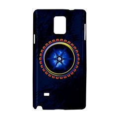 Power Core Samsung Galaxy Note 4 Hardshell Case by linceazul
