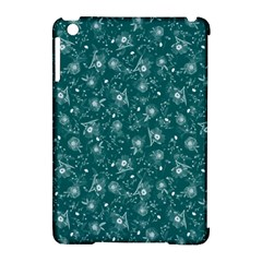 Floral Pattern Apple Ipad Mini Hardshell Case (compatible With Smart Cover) by ValentinaDesign