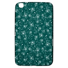 Floral Pattern Samsung Galaxy Tab 3 (8 ) T3100 Hardshell Case  by ValentinaDesign