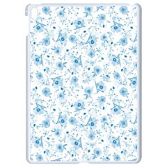 Floral pattern Apple iPad Pro 9.7   White Seamless Case