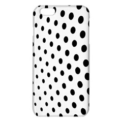 Polka Dot Black Circle Iphone 6 Plus/6s Plus Tpu Case by Mariart