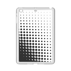 Comic Dots Polka Black White Ipad Mini 2 Enamel Coated Cases by Mariart