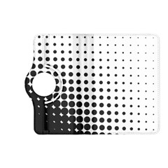 Comic Dots Polka Black White Kindle Fire Hd (2013) Flip 360 Case by Mariart