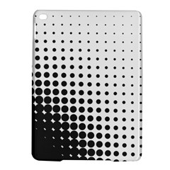Comic Dots Polka Black White Ipad Air 2 Hardshell Cases by Mariart