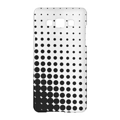 Comic Dots Polka Black White Samsung Galaxy A5 Hardshell Case  by Mariart
