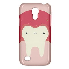 Sad Tooth Pink Galaxy S4 Mini by Mariart