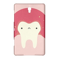 Sad Tooth Pink Samsung Galaxy Tab S (8 4 ) Hardshell Case  by Mariart
